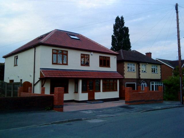 Houses on Highgrove Avenue, Beeston