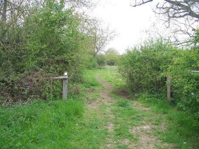 Bridleway to Gawcombe [1]