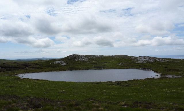 Lochan at west foot of Beinn Uraraidh, Islay