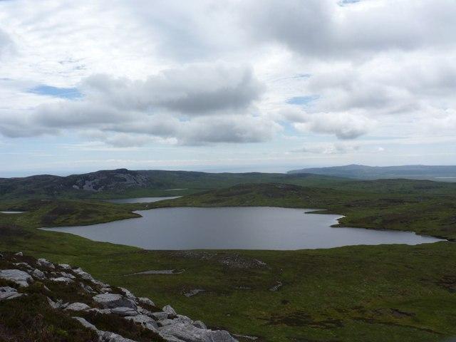 Loch Beinn Uraraidh from Beinn Uraraidh, Islay