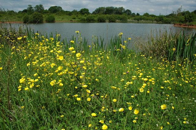 Lake near Hallend