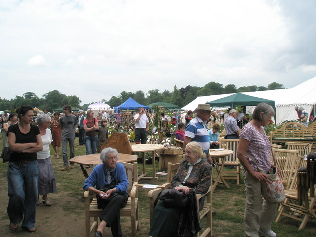 Taking it easy at the 2010 Stansted House Garden Show (2)