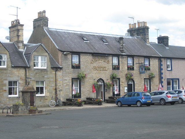 The Grapes Hotel in Newcastleton