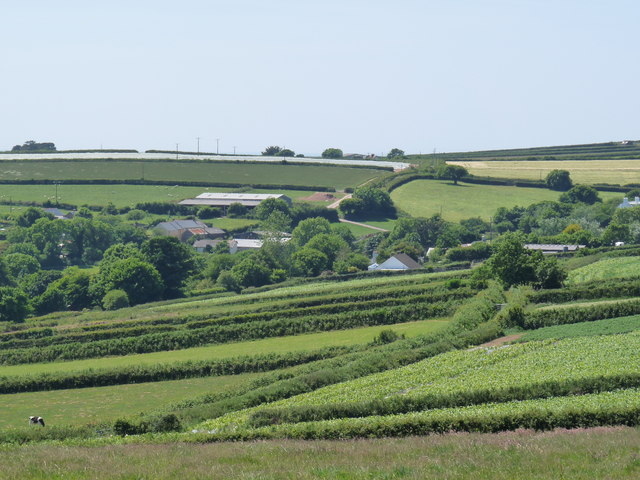 North Buckland as viewed from Eastern Down Lane