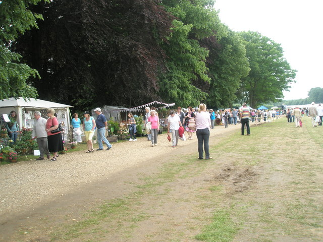Stalls at the 2010 Garden Show, Stansted House (2)