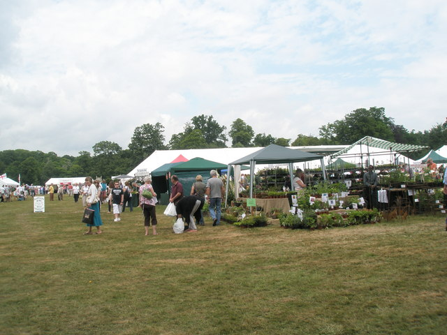 2010 Stansted House Garden Show- plant stall (8)