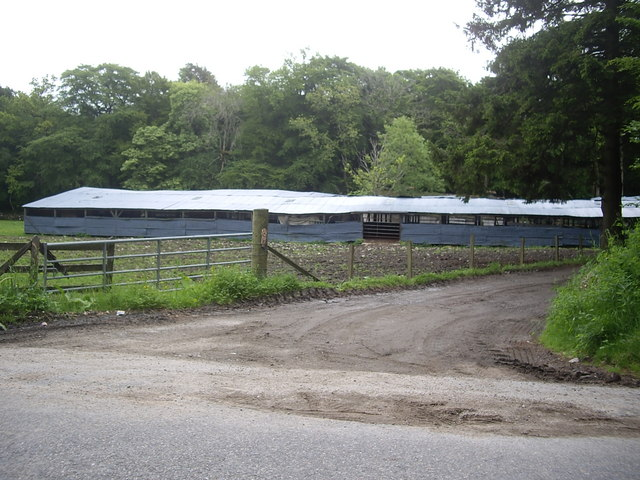 Farm buildings at Mains of Invery