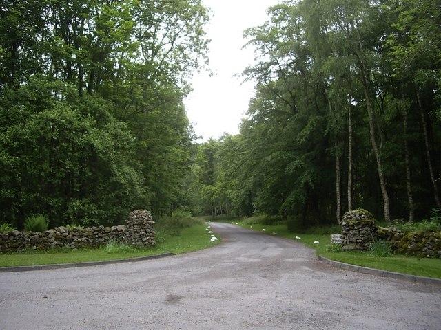 'Private Road' off B974