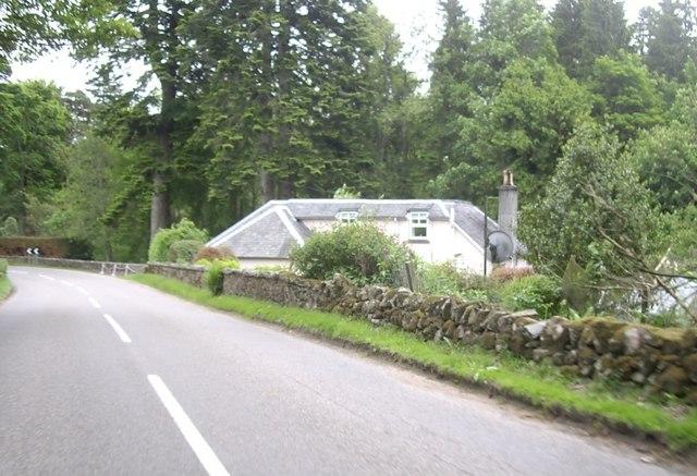 Invery Lodge near Falls of Feugh