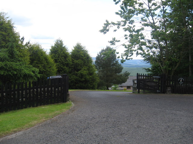 Entrance to a private house