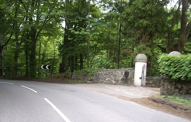 Gated entry to Riverstone