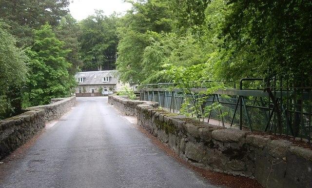 Crossing the Bridge of Feugh