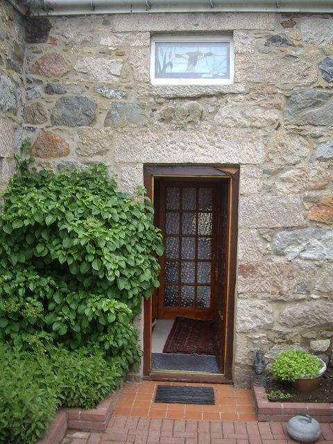 Door, Duck and Curling Stone