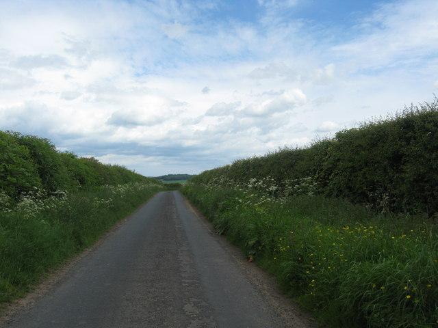 Minor road near Ulston Farm