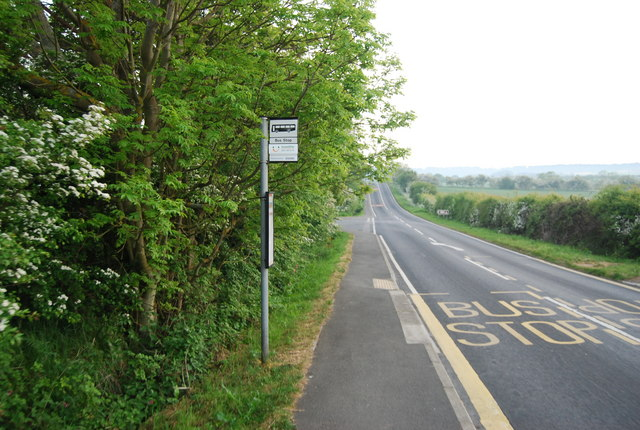 Bus stop, Field Lane