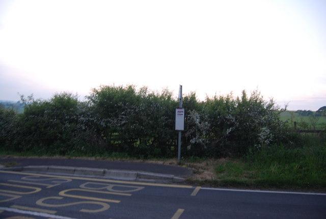 Bus stop, Field Lane
