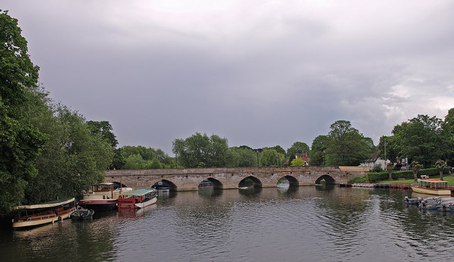 Clopton Bridge, Stratford-Upon-Avon