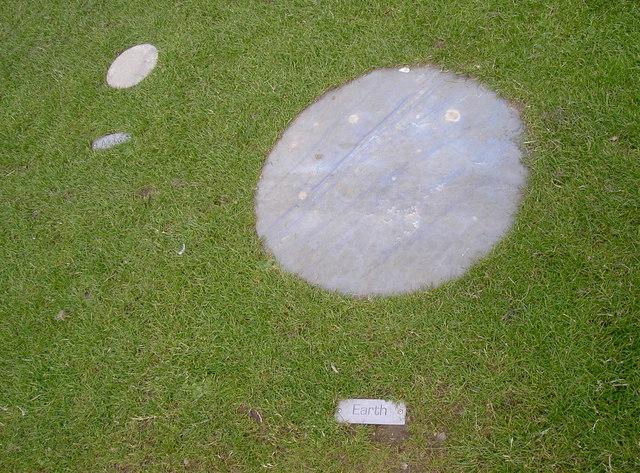 Representative stones on the telescope pathway