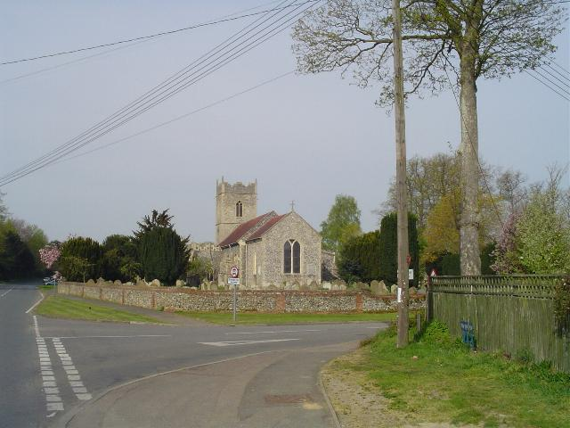Palgrave St Peter's church