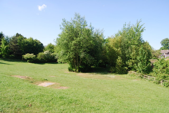 Open space by the path to Newby