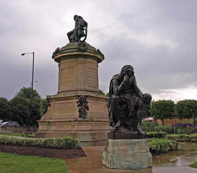 Shakespeare Monument, Stratford-Upon -Avon