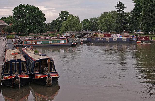 Canal Basin , Stratford-Upon-Avon