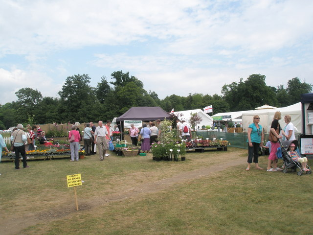 2010 Stansted House Garden Show- plant stall (15)