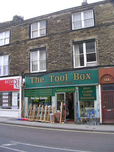The Tool Box - Boroughgate
