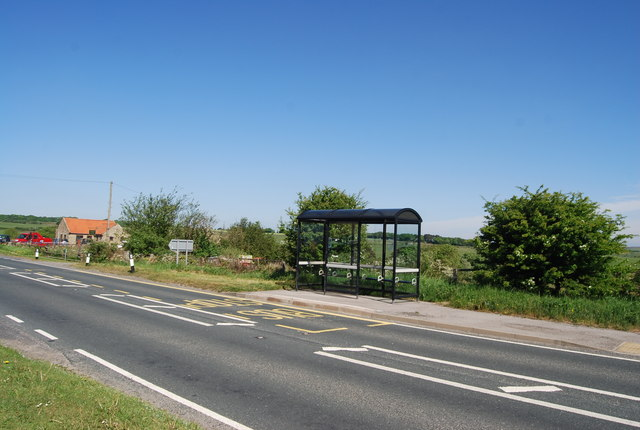 Bus Stop opposite the Flask Inn