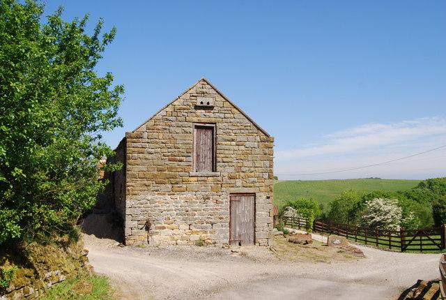 Stone barn, Low Flask Farm
