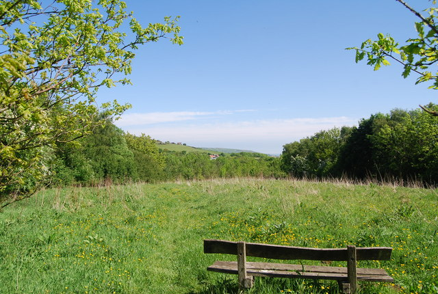 Bench with a view, Harry's Folly
