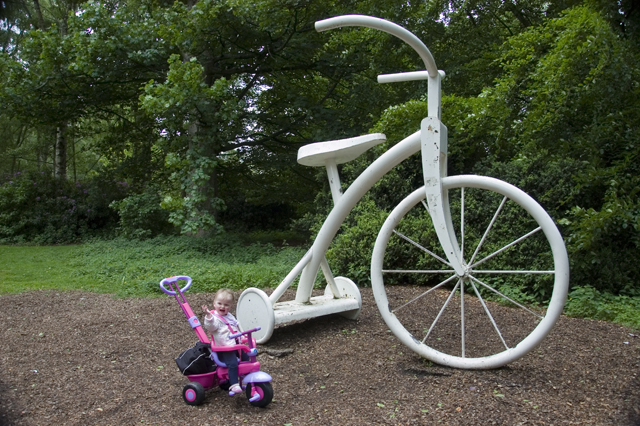 Cycle sculpture, Vogrie Country Park