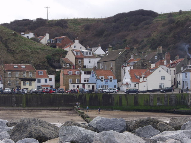 Staithes from the Penny Nab