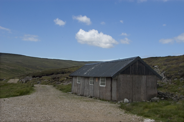 Shooting cabin on Brennand Hill
