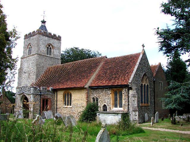 Little Cornard  All Saints church