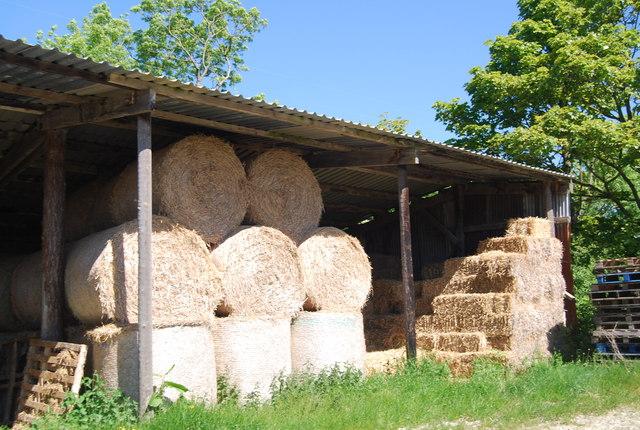 Hay barn, Colcroft Farm