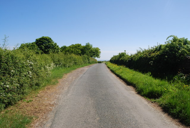 Lane near Colcroft Farm