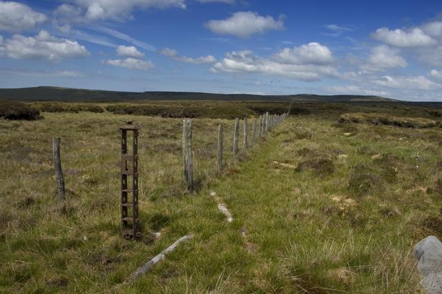Moorland Fence, Brennand Fell