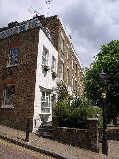 Houses in Flask Walk, Hampstead