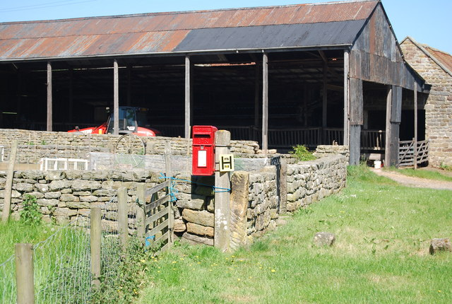 Postbox, Fyling Old Hall Farm