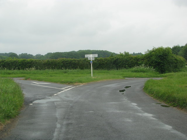 Tollbrook Corner near Weston-on-the-Green