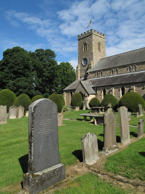 Church and Churchyard, Wolsingham