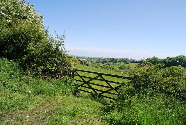 Gate by the old railway line