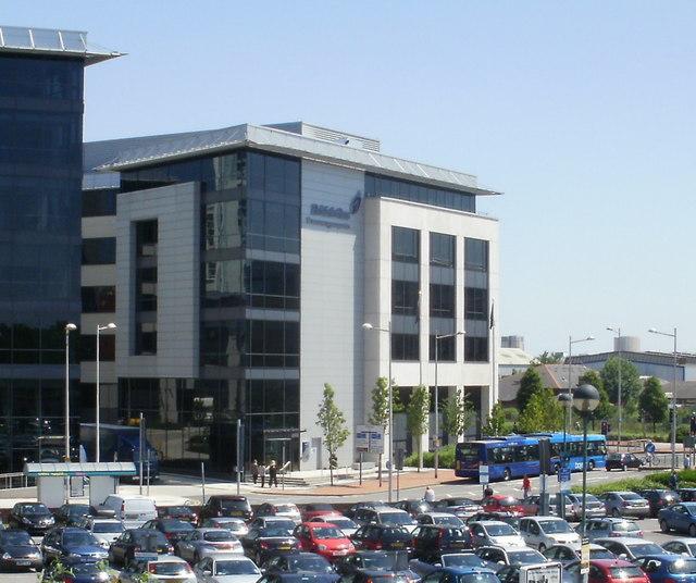 British Gas, central Cardiff