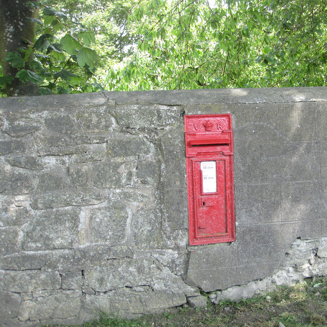 VR postbox, Marcle Hill