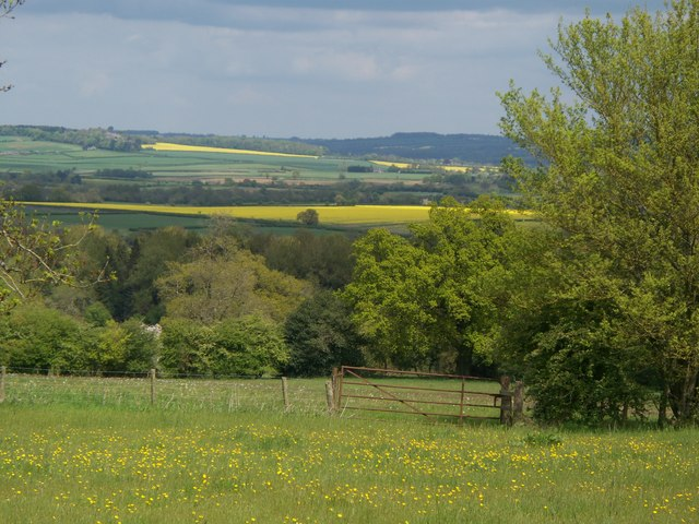 View from near Church Westcote
