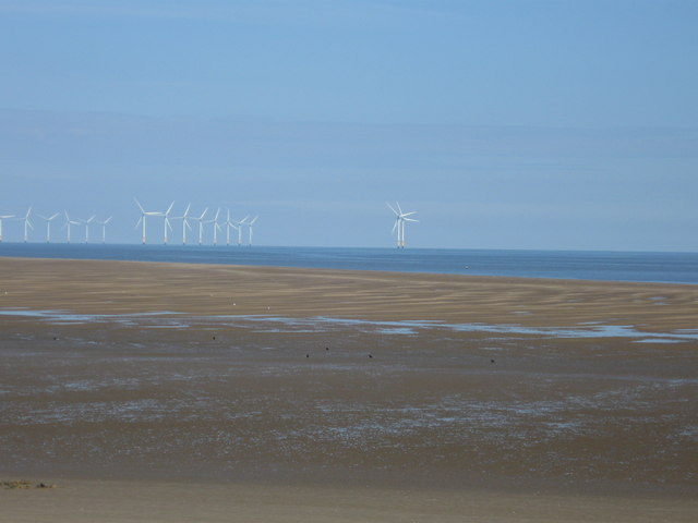 Off shore Windfarm from New Brighton
