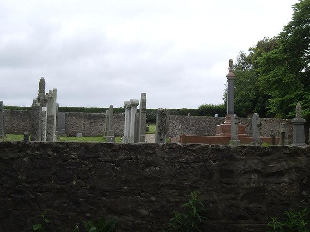 Banchory Devenick churchyard