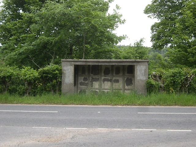 Bus shelter at Banchory Devenick road junction