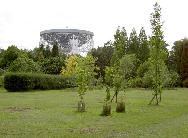 Telescope viewed from Botanical Gardens